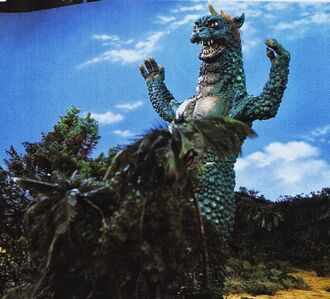 Gabara in All Monsters Attack (click to enlarge)