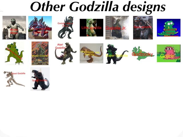File:Other Godzilla variants.jpeg