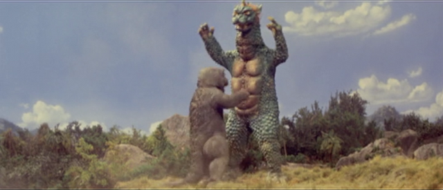 File:All Monsters Attack - Minilla used TACKLE!.png