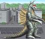 Godzilla Arcade Game - Gigan