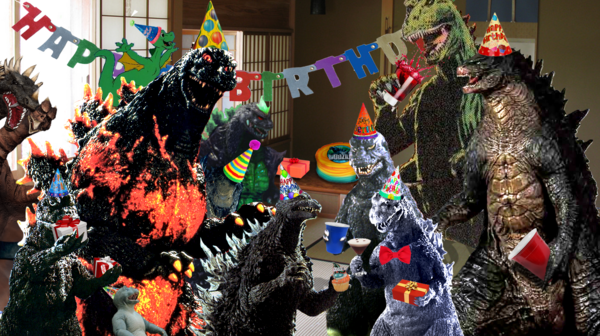 Happy 61st Birthday Godzilla