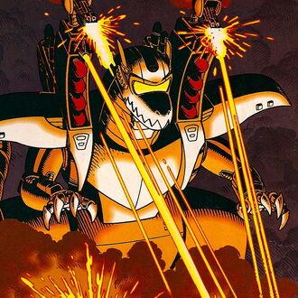 Cybersaur as it is seen in Godzilla, King of the Monsters #2