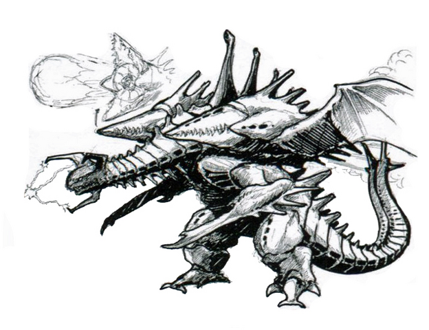 File:Concept Art - Godzilla vs. Destoroyah - Destoroyah 16.png