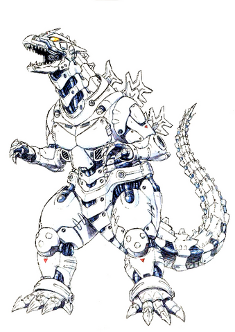 File:Concept Art - Godzilla Against MechaGodzilla - Kiryu 53.png