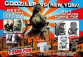 New York Comic-Con FunKo Pop Exclusive Godzillas