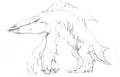 Concept Art - Godzilla 2000 Millennium - Orga 1
