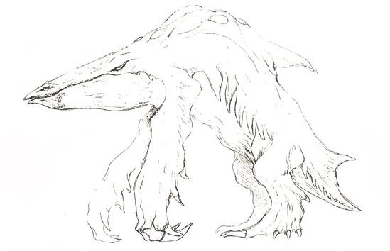 File:Concept Art - Godzilla 2000 Millennium - Orga 1.png