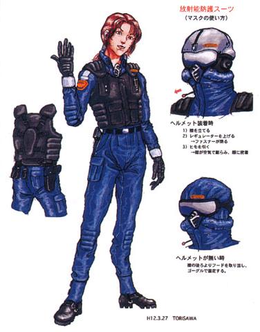 File:Concept Art - Godzilla vs. Megaguirus - G-Grasper Uniform 1.png