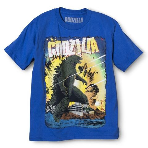 File:Godzilla 2014 Merchandise - Clothes - Blue Boys Shirt.jpg