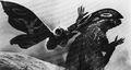 MVG - Mothra Uses Her Scales On Godzilla