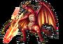 Godzilla X Monster Strike - Fire Rodan