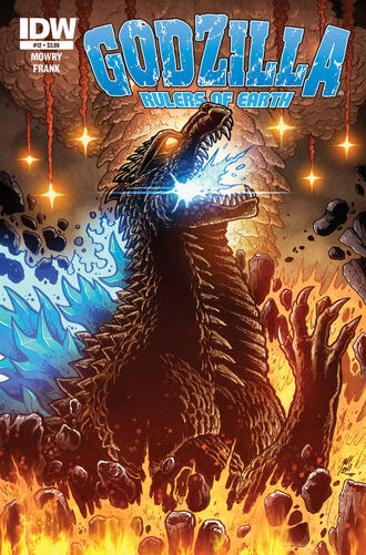 Godzilla rulers of earth issue 12 cover by kaijusamurai-d7716eq