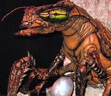 Meganulon in Godzilla vs. Megaguirus (click to enlarge)