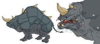 Rhinosaurus concept art