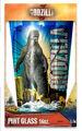 Godzilla 2014 Silver Buffalo Laser Pint Glass