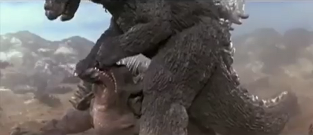 File:Godzilla vs. MechaGodzilla - Anguirus gets King King'd by Fake Godzilla.png