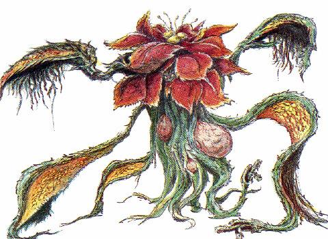 File:Concept Art - Godzilla vs. Biollante - Biollante Rose 13.png