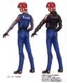 Concept Art - Godzilla vs. Megaguirus - G-Grasper Uniform 4