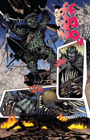 File:RULERS OF EARTH Issue 5 - 4 - Gaira escapes and fights Varan.png