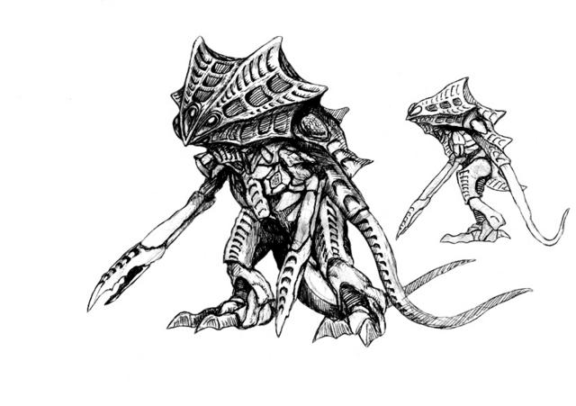 File:Concept Art - Godzilla 2000 Millennium - Orga 85.png