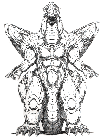 File:Concept Art - Godzilla vs. SpaceGodzilla - SpaceGodzilla 3.png