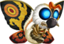 CR Godzilla - Mothra Icon