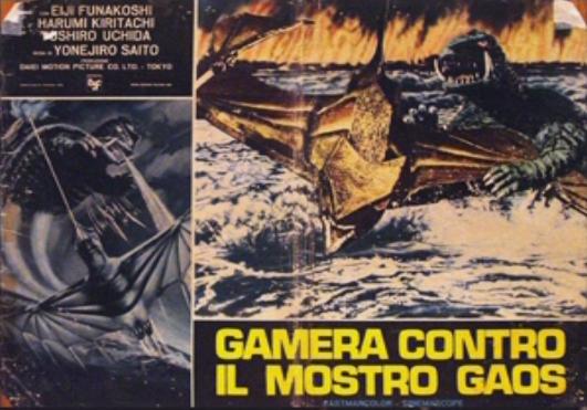 File:Gamera - 3 - vs Gyaos - 99999 - 4 - Italian Poster.png