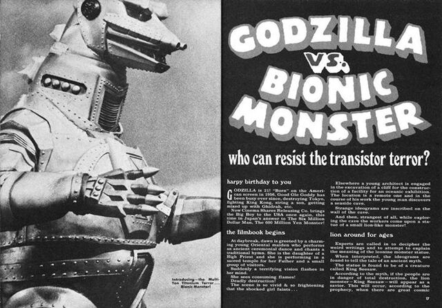 File:Godzilla vs. Bionic Monster American Booklet.jpg