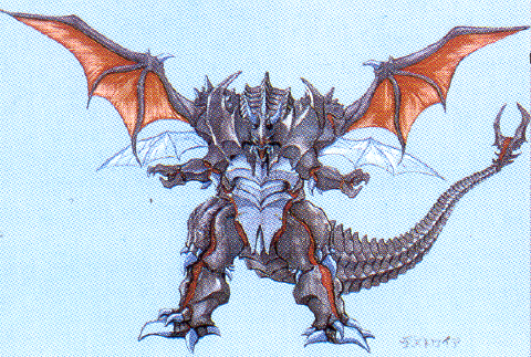File:Concept Art - Godzilla vs. Destoroyah - Destoroyah 10.png