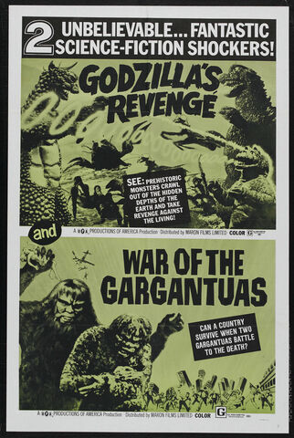 File:All Monsters Attack Poster United States War of the Gargantuas.jpg