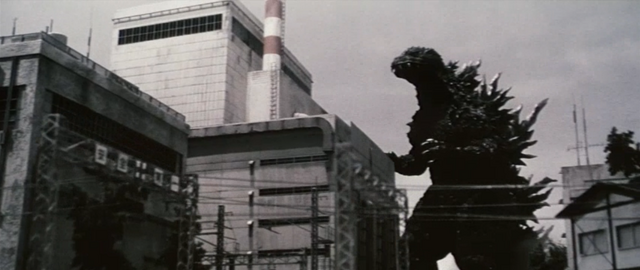 File:Godzilla vs. Megaguirus - Godzilla attacks Tokai Village, 1966.png