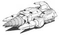 Concept Art - Godzilla vs. SpaceGodzilla - Land Moguera 2