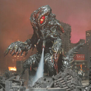 The FinalHedo as it is seen in Godzilla Raids Again