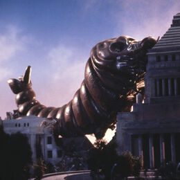 Godzilla.jp - 19 - HeiseiMosuLarva Mothra Larva 1992