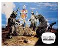 Godzilla vs. Megalon Lobby Card Germany 2