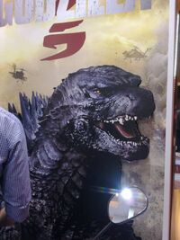 AMERICAN GODZILLA FACE HAS BEEN REVEALED