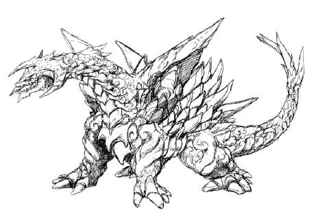 File:Concept Art - Rebirth of Mothra - Desghidorah 5.png