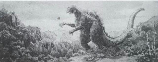 File:Concept Art - King Kong vs. Godzilla - Godzilla 1.png