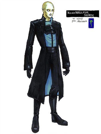 File:Concept Art - Godzilla Final Wars - Xilien Guard.png