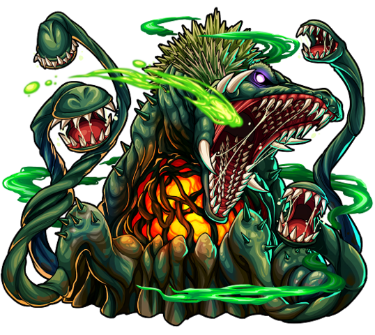 File:Godzilla X Monster Strike - Biollante.png