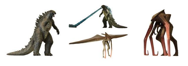 File:Godzilla 2014 Merchandise - Bandai High Grade Gashapon capsule toys.jpg