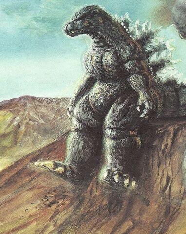 File:Who's Afraid Of Godzilla Godzilla Sits Alone.jpg