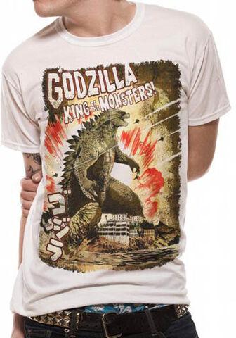 File:Godzilla 2014 Godzilla – Japanese Poster Rolled Sleeve T-shirt.jpg