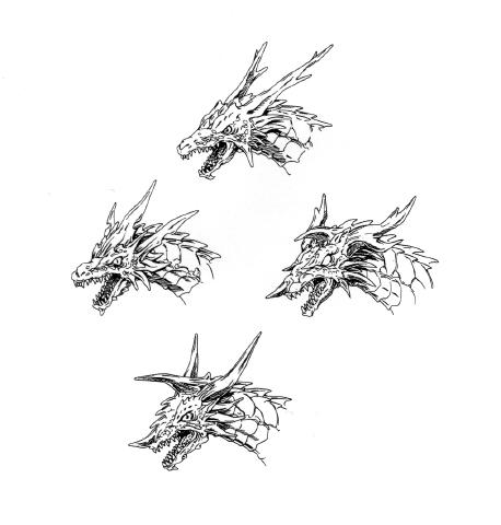 File:Concept Art - Rebirth of Mothra - Desghidorah Head 1.png