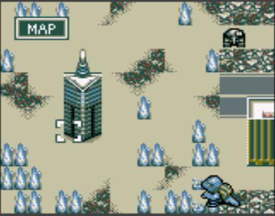 File:SuperGodzilla approaches SpaceGodzilla's tower, intending to destroy it.jpg