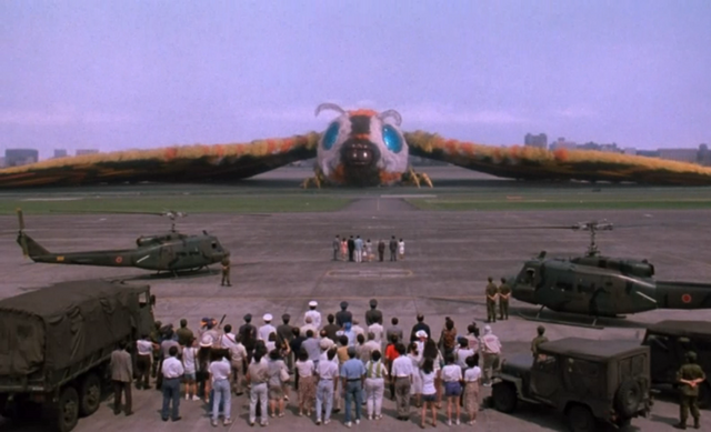 File:Godzilla And Mothra The Battle For Earth - - 9 - Mothra is back with the humans.png