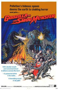 Godzilla Movie Posters - Godzilla vs. Hedorah -English-