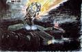 Concept Art - Godzilla vs. Biollante - MBT-92 3