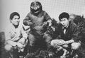 AMA - Minilla and Two Men