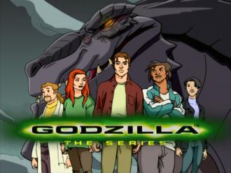 Godzilla The Series title card
